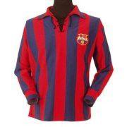 FC Barcelona 1950s Retro Shirt    www.spain-football.org/fc-barcelona-shirts.html     #Europe's football clubs