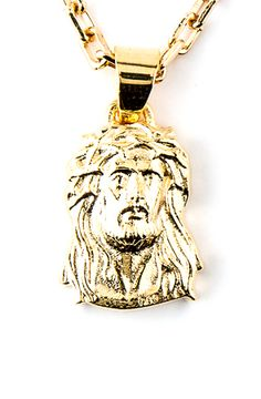Gold Chain Men Fashion Monsieur The Micro Jesus Piece - Luxury Jewelry, Gold Jewelry, Jewelery, Chain Jewelry, Jesus Piece, Gold Everything, Gold Chains For Men, Men Fashion, Jewelry Making