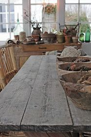 You can`t use up CREATIVITY. Vibeke Design, Weathered Wood, Vintage Metal, Scandinavian Design, Farmhouse Style, Dining Table, Xmas, Diy Projects, Canning