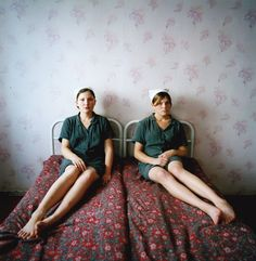 darksilenceinsuburbia:    Michal Chelbin. Prison Portraits. Photographs of prisoners in the Ukraine and Russia.