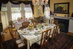 Elegant Dining at Hawthorn B & B