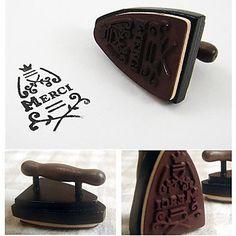 старинные ломо железное дерево марка / поделки смешная / французский мерси – RUB p. 137,99