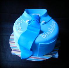 Birthday Tie Cake