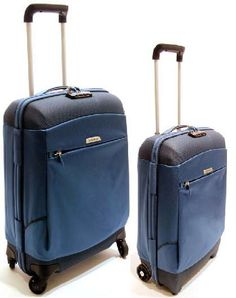 Samsonite Trolley Blu Set