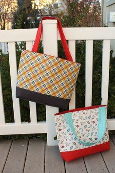 Simple, Sturdy Tote Bag free PDF download