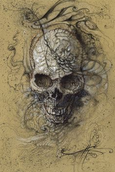 Love Skull #Skull #Love #Print #PrintsForSale http://www.nickchaboya.com/store/  @NickChaboya