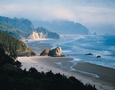 OREGON COAST LINE PICTURES | Oregon Coastline: Information from Answers.com