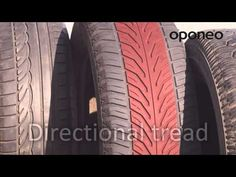 Tread pattern, construction and types ● Hints from Oponeo™ - YouTube