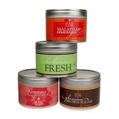 All Natural Soy Candles made with Pure Essential Oils!