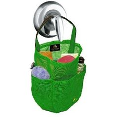 Father's Day Gift: Dorm Shower Caddy - Bright Kelly Green w Black Straps - by Saltwater Canvas College Years, College Hacks, College Dorm Rooms, College Life, College Guys, Uni Life, Bunion Pads, College Survival, Dorm Life