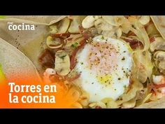 Two exquisite versions of savory crepes - Torres en la Cocina Queso Manchego, Savory Crepes, Crepe Recipes, Eggs, Chicken, Breakfast, Kitchen, Food, Youtube