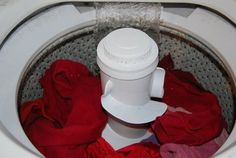 Wash laundry in cold water, it'll save you money, energy, and CO2 emissions