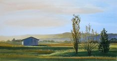 """""""EARLY TO RISE"""" by JAN LAWNIKANIS. Paintings for Sale. Bluethumb - Online Art Gallery New Artists, Great Artists, Timber Mouldings, Long Shadow, Buy Art Online, Gouache Painting, Paintings For Sale, Cool Artwork, Online Art Gallery"""