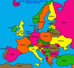 Map Europe Countries - Yahoo Image Search Results