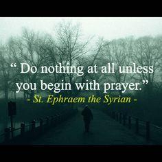 Pray before you start doing anything #thecatholicgentleman