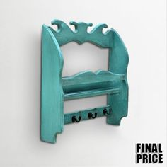 Hometown Eddy Multipurpose Shelf Turquoise - This product is a part of the annual