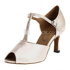 Chaussures de danse (Blanc) - Non personnalisable - Talons personnalisés - Silicone - Danse latine/Salle de bal de 1070728 2016 à €24.49