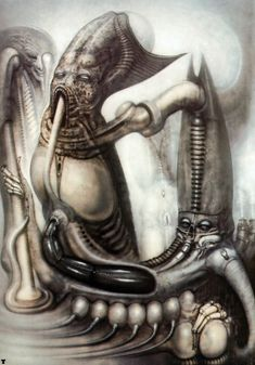 MORDOR VI..........BY H.R. GIGER.........SOURCE BING IMAGES............