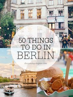50 choses à faire à Berlin - description rapide à l'essentiel!  À imprimer + (sans carte ni adresse)
