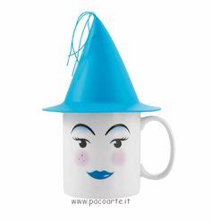 """La tazza con cappello """"princess"""" in vendita su www.pacoarte.it"""