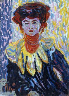 Les Illusions perdues (Ernst Ludwig Kirchner (German, 1880-1938), Doris...)
