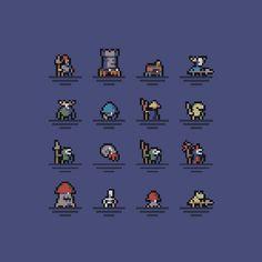 Game Character Design, Game Design, Pixel Art Background, Modele Pixel Art, Pix Art, Pixel Animation, Anime Pixel Art, Pixel Design, Pixel Art Games