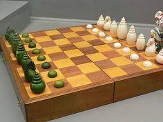 Stained and White Ivory Muslim Style Chess Set Cambodia 18… | Flickr