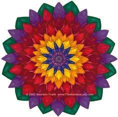 Corvallis Indoor Winter Market: FAQ #3: The Mandala Lady