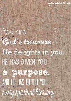 Treasure of God: Ridding Ourselves of Low Self-Worth | http://alyssajhoward.com