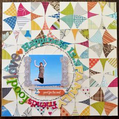 I really don't know how she does it. Another great layout from Paige Evans.