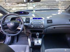2007 Honda Civic, Honda Models, Exterior Colors, Colorful Interiors, Color Blue, Classic Cars, The Unit, Gq, Vehicles