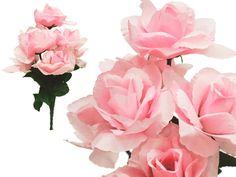 84 Silk Open Rose-Pink