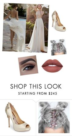 """Hae"" by uniduckface on Polyvore featuring Badgley Mischka"