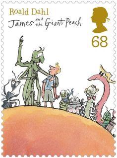 Roald Dahl stamps!