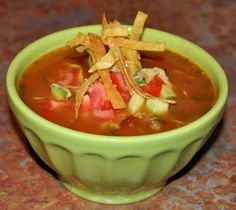Taco Soup. Best thing I have ever made in the crock pot. Easy too!