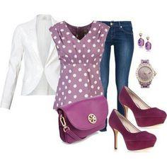 Purple.. LOVE the shirt