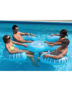 $$ AVIVA 'Paradise Lounge' Pool & Lake Float