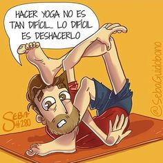 Yo haciendo #yoga @sebaguidobono #pelaeldiente #feliz #comic #caricatura #viñeta #graphicdesign #fun #art #ilustracion #dibujo #humor #amor #creatividad #drawing #diseño #doodle #cartoon