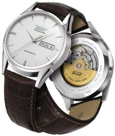 Tissot Visodate Automatic Silver Dial Mens Watch T0194301603101: Watches: Amazon.com