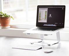 Laptop Macbook Stand Computer Holder Desk Office Table Portable Comfort Elevator in Computers/Tablets & Networking, Laptop & Desktop Accessories, Stands, Holders & Car Mounts | eBay