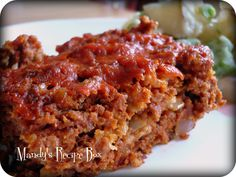 Mandy's Recipe Box: Paula Deen's Old Fashioned Meat Loaf