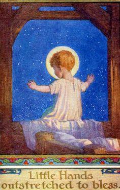 Baby Jesus - artist Margaret Tarrant by Waiting For The Word, via Flickr