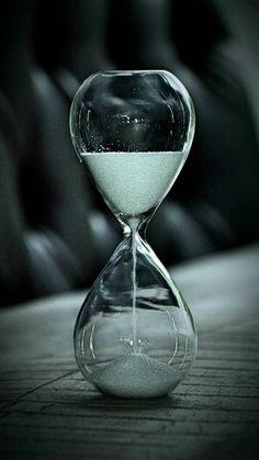 R 60 Min White Transparent Glass Hourglass Timer Creative Present Hourglass SODIAL