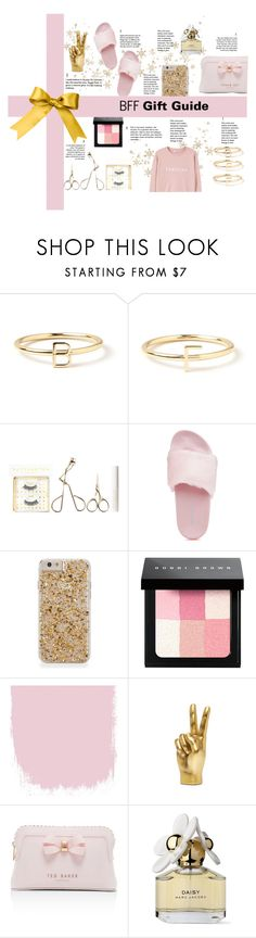"""""""December Day 1: BFF Gift Guide"""" by briesepb on Polyvore featuring Maya Brenner Designs, Battington, Steve Madden, Bobbi Brown Cosmetics, Ted Baker, Marc Jacobs and MANGO"""