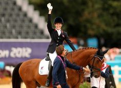 Dressage: Day two preview 12.09.2016 The competition is expected to step up a gear at the Olympic Equestrian Centre as undefeated Britain enter the fray - Sophie Christiansen - London 2012