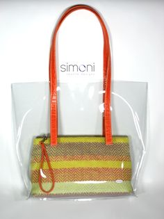 I love Colours Hand-woven purse in Plastic bag. #bag #fashion