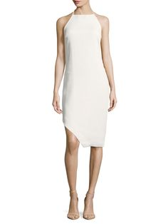 C/MEO COLLECTIVE Fracture Asymmetrical Dress