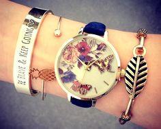 grafika watch, accessories, and bracelet Cheap Fashion Jewelry, Fashion Bracelets, Women Jewelry, Diamond Bracelets, Gemstone Bracelets, Luxury Jewelry, Jewelry Shop, Jewellery, Bracelet Designs