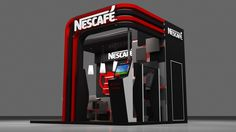 Nescafe Activation booth