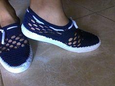 Zapatos, Botas Y Sandalias Tejidas - Bs. 6.500,00 en Mercado Libre